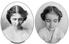 Mom helps daughter channel icons, not Disney princesses - Jaime Moores daughter channels Helen Keller.