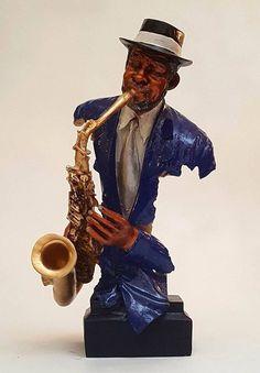 Objets de décoration design musicien saxophone – Monalina Decor