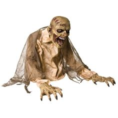 Standing tall and looking frightening, the Gaseous Zombie Fogger Animated Prop looks like he is pulling himself out of the ground and then sprays the whole area with fog. It is a scary zombie Halloween decoration that is made with a hard plastic frame. Animated Halloween Decorations, Haunted House Decorations, Halloween Themes, Halloween Costumes, Outdoor Decorations, Zombie Costumes, Scary Decorations, Holiday Decorations, Halloween Rules
