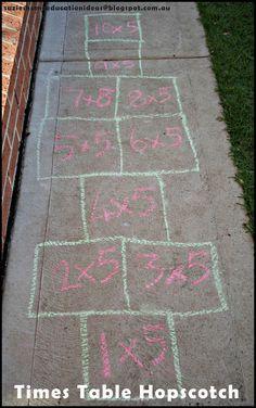 Learn Multiplication Outside