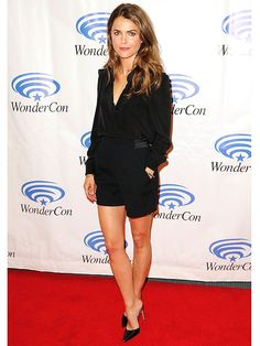 Keri Russell Shows Some Leg to Nab This Week's Best Dressed Title | People.com