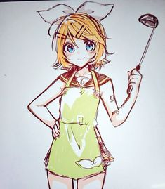 Rin is a good cook Vocaloid, Mai Waifu, Kawaii, Poses, Rin, Best Waifu, Anime, Hatsune Miku, Anime Poses Reference