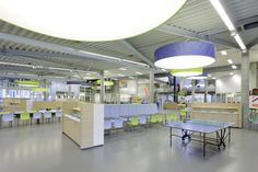 Canteen at VHL University of Applied Sciences, Velp, The Netherlands, Interior Architect Johan van Helden, eromes.nl