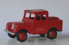 1953 Girls' Toys | Dinky Toys 1 43 Landrover Mersey Tunnel A model of the first Mersey ...