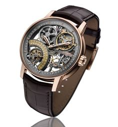DeWitt Academia Skeleton - with Bi-Directional Seconds - Perpetuelle
