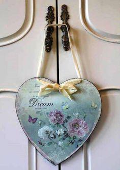 Dream Heart door hanger