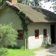 Stilecht nachgebautes #Lehmhaus. Zu sehen im #Moormuseum #Moordorf.