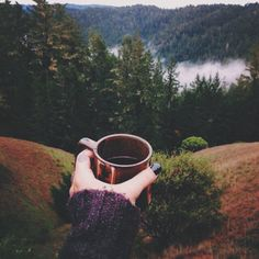 Coffe in the mountains