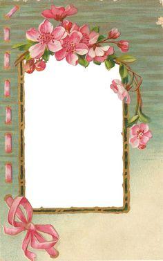 Frame: Vintage Frames, Vintage Cards, Scrapbook Paper, Scrapbooking, Vintage Photo Album, Printable Frames, Frame Background, Paper Background, Button Cards