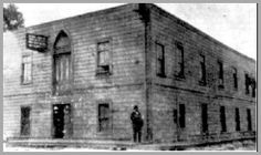 Templo da Rua Azusa, 312 - Califórnia. Berço do Pentecostalismo.