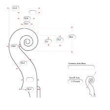 Risultati immagini per violin scroll