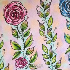 Mein Sommer Spaziergang Coloring Book By Rita Berman