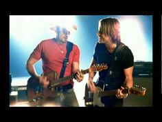 BRAD PAISLEY & KEITH URBAN ~ Start A Band