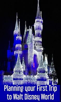 How to Plan Your First Walt Disney World Vacation