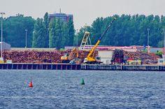 https://flic.kr/p/zmBDXG | Rostock Allemagne août 2015 - 140 Unterwarnow, Alter Hafen Süd
