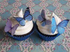 Edible cupcake decorations