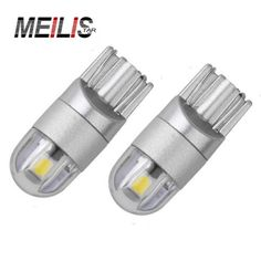 Carsty 2x W5w Led T10 Canbus Bulbs 3014 Car 168 194 Turn Signal License Plate Trunk Clearance Lights Lamp Warm White 12v 6000k Signal Lamp