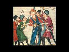 """Pos de chantar m'es pres talenz"", by Guilhem de Peitieu or Peiteus (1071 - 1126), VII Count of Poitiers and IX Duke of Aquitania, the earliest known troubadour. Performers are La Capella Reial de Catalunya and Hespérion XXI (dir. Jordi Savall), Pascal Bertin (countertenor). Images are from the 'Codex Manesse' (14th century). (http://www.alia-vox.com/)"