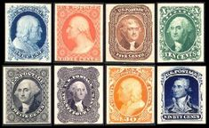 Classic stamps from 1857