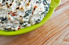 Kicked Up Spinach Dip with Extra Veggies