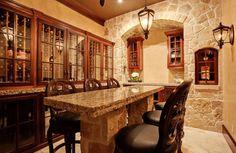 cool 20 Stunning Residential Wine Cellars Design Ideas