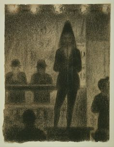 """Georges Seurat Drawings 