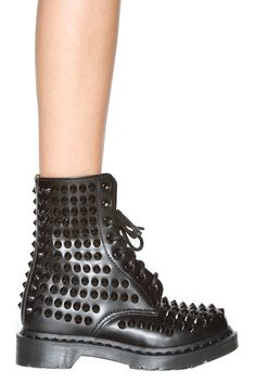 these are out of this world, Campbell: you are dust! > Dr. Martens Spike Boot in Black