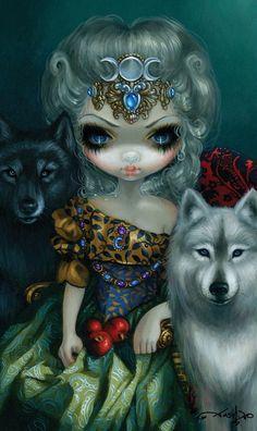 The High Priestess by Jasmine Becket-Griffith (78 Tarot)