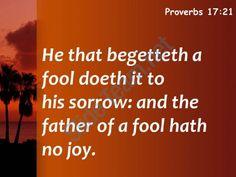 proverbs 17 21 the parent of a godless powerpoint church sermon Slide05http://www.slideteam.net