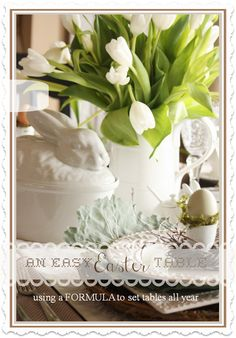 Bunnies for Easter. The Scoop #108 and the MEGA Spring Linky Party! - Cedar Hill Farmhouse