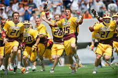 Words can't describe this feeling. This is why I love lacrosse.