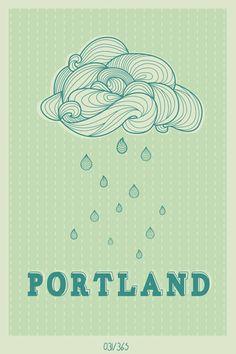 Portland, OR. ....one day.