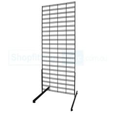 Slat Grid Stand Double Sided
