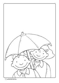 Kleurplaat Paraplu Verwijderen En Kls Zelf De Paraplu