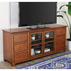 70-inch 6-drawer Wood TV Stand