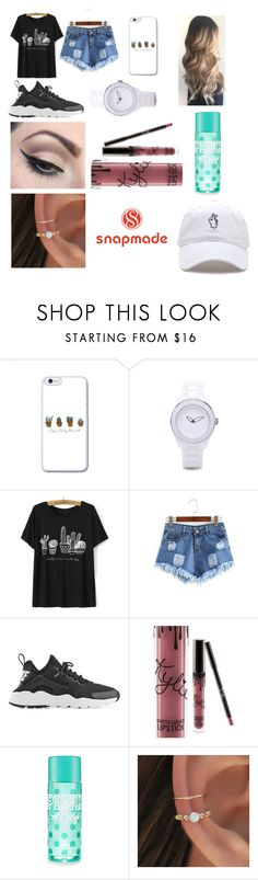 """""""Snapmade ❤️🔥💥"""" by ariel0207 ❤ liked on Polyvore featuring NIKE, Mehron and Kylie Cosmetics"""