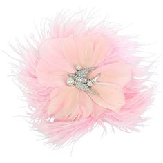 Betsey Johnson Blue Love Birds Feather Hair Clip (155 RON) ❤ liked on Polyvore featuring accessories, hair accessories, pink, hair clip accessories, blue hair accessories, blue hair clips, betsey johnson and barrette hair clip