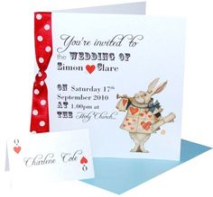 invite and place card ideas