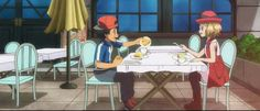 Got To Maintain Good Credit? Pokemon Ash And Serena, Pokemon X And Y, Pokemon People, Pokemon Ships, Cool Pokemon, Pokemon Stuff, Satoshi Pokemon, Ash And Dawn, Ashes Love