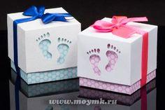Подарочные коробочки для детей. Точнее даже, для младенцев и их родителей | Страна Мастеров