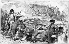 """Battle of Lexington and Concord - These battles were the first of the Revoltionary War.  The British went to Lexington and Concord to destroy the militia's supplies.  More than 4,000 minutemen came to fiight 700 British soldiers.  They lined the road from Lexington and Concord and fired at them constantly.  Only the arrival of more British saved the other British soldiers.  This was later called the """"shot heard round the world."""""""