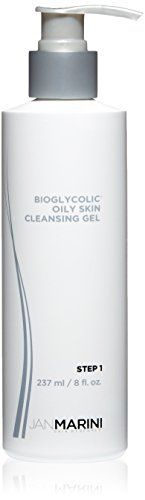 Jan Marini Skin Research Bioglycolic Oily Skin Cleansing Gel 8 fl oz >>> Be sure to check out this awesome product.Note:It is affiliate link to Amazon.