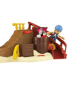 Look at this Jake & the Neverland Pirates Skate Park Toy Set on #zulily today!