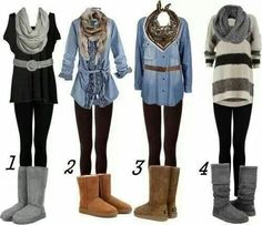 Casual clother for hijab in winter