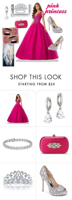 """""""pink princess"""" by delpilardiazfiorela ❤ liked on Polyvore featuring beauty, Kate Spade, Blue Nile, Badgley Mischka and Bling Jewelry"""