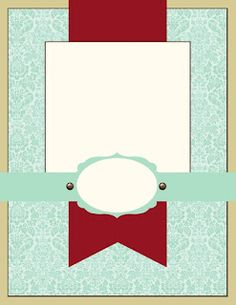 Tuesday, October 9, 2012  Try Stampin On Tuesday Sketch # 87