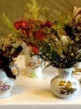 Vintage Vases and Tea Cups