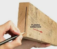 """The Way Wood Works: Reading Grain Direction By Tom Caspar """"Going against the grain"""" is a familiar phrase. It means doing something the wrong way.When you're talking about wood, you always want to go…MoreMore #WoodworkPlans"""