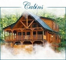 Look at this cool cabin in Gatlinburg.....from Above the Mist