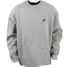 Nike Tech Fleece Crewneck Sweatshirt Grey X Large XL  fashion  clothing   shoes   5bb523d40164